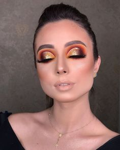 So pretty, makeup Glam Makeup, Dramatic Eye Makeup, Beautiful Eye Makeup, Skin Makeup, Eyeshadow Makeup, Beauty Makeup, Makeup Art, Cute Makeup Looks, Creative Makeup Looks
