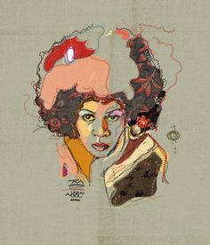Minnie Riperton by Fitacola