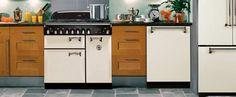 AGA Legacy series in Vintage Ivory - range, dishwasher, French door refrigerator