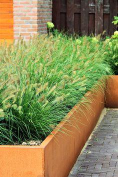 Home And Garden, Garden Design, Front Garden Design, Outdoor, Garden Dividers, House Exterior, Industrial Garden, Garden Edging, Backyard