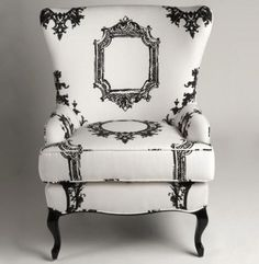 Alice-inspired chair