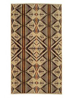Pendleton Diamond Desert Spa Towel - Liz Ann's Interior Design Boutique.  Click here to purchase http://lizann.myshopify.com/collections/bath-1/products/pendleton-diamond-desert-spa-towel