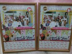 Thank U note for teachers - Crafts by Gigi