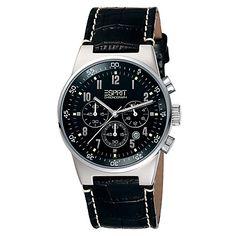 Esprit Men Watch Equalizer Black Chrono ES000T31020
