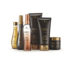 Schwarzkopf Professional BC hairtherapy Oil Miracle Range.