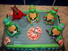 ninja turtles cakes   Teenage Mutant Ninja Turtles, Splinter
