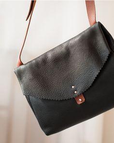 Anna Pugh LOLA bag in Black http://annapugh.co.uk/products/bag-three