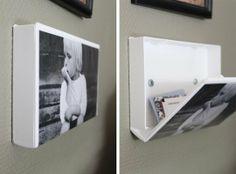 Quick Tip: DIY VHS Case Photo Frame with Secret Storage — divaani blogit
