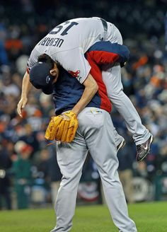 David Ortiz lifted Uehara following the Game 5 victory. Game 6 will take place Saturday at Fenway Park.