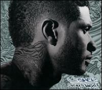album cover art: usher - looking 4 myself Usher Looks, New Soul, Rick Ross, Music Promotion, New Girlfriend, Adam Sandler, Music Library, My Melody, Curly Girl