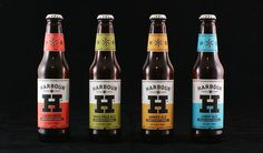 Harbour Brewing Company // design by A-Side // via the dieline
