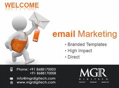 "EMAIL MARKETING : ""Email Marketing has an ability many  channels don't: creating valuable personal  touches-at scale."" MGR DIGITECH provides Email Marketing Services. For more details please contact us: Contact details Phone: +91 8688170003, +91 8688170008 Email-Id:info@mgrdigitech.com Website :www.mgrdigitech.com #MGR,#MGRDigitech,#Digital,#OnlineSales,#DigitalSolutions,#EmailMarketing"