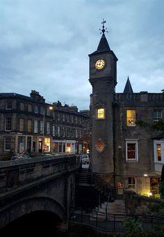 ✿༺ Stockbridge, Edinburgh, world heritage, bridge, architecture, Scotland