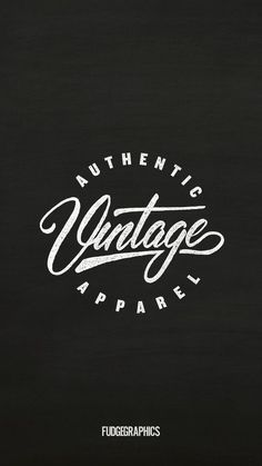 Name: Authentic Vintage Apparel Retro/Vintage Logo Design. Do you need a professional logo for your business? If yes then visit our website and fill out our form for a quote. We are creative experts in content and design marketing. We are so confident in our ability to provide you the best possible products that we offer our customers 100% Money Back Guarantee on all logo designs.