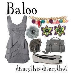 Disney inspired clothing by disneythis-disneythat. Baloo.