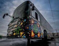 Street Art Buses in Stavanger, Norway Stavanger Norway, Norway Viking, Art Festival, Vikings, Graffiti, Street Art, Around The Worlds, Buses, City