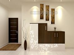 Nautical Design elements can be showcased in many different spaces just like… Living Room Partition Design, Room Partition Designs, Dining Room Design, Partition Ideas, Wall Partition, Wardrobe Wall, Bedroom Wardrobe, Living Room Interior, Home Interior Design