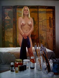 Kai Fine Art is an art website, shows painting and illustration works all over the world. Oil Painting Pictures, Pictures To Paint, Figure Painting, Figure Drawing, Erotic Art, Art Music, Figurative Art, Artist At Work, Altered Art