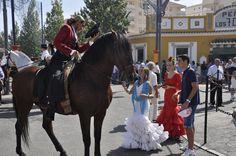 Feria de Fuengirola 2012. Ambiente en el Recinto Ferial. Celebrations, Spanish, Horses, Animals, Amazons, Earth, Fiestas, Animales, Animaux