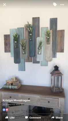 Home Decoration Ideas Wall .Home Decoration Ideas Wall Diy Wand, Diy Wall Decor, Diy Home Decor, Room Decor, Pallet Wall Decor, Diy Pallet, Nursery Decor, Rustic Decor, Farmhouse Decor