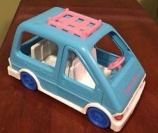 Fisher Price Loving Family Blue Mini Van Car SUV Doll House Accessory