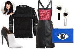 Not something I would normally pick but for some reason love it. Our 5 Fantasy Fashion Week Outfits #refinery29
