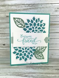 Just in Case - Glimmer Paper Assortment Pack Cool Cards, Diy Cards, Just In Case, Just For You, Cards For Friends, Friend Cards, Glitter Cards, Friendship Cards, Stamping Up Cards