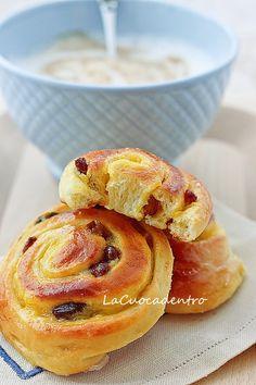 La Cuoca Dentro: Girelle crema e uvetta