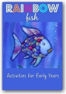 The Rainbow Fish activities for early years children Include lots of fun activities and free printables.