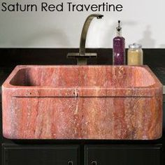 Natural Stone Kitchen Sinks : Cool natural stone kitchen sinks in granite, marble and other stone ...