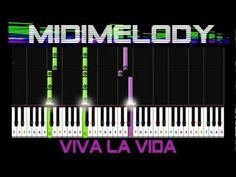 ♬ Viva La Vida by Coldplay (EASY KEY) Synthesia Piano Tutorial + Sheet Music ♬ - YouTube