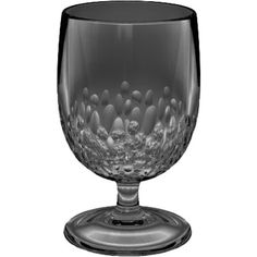 Crafted from acrylic for shatterproof appeal, this textured goblet is perfect for the poolside bar or patio table.   Product: S...
