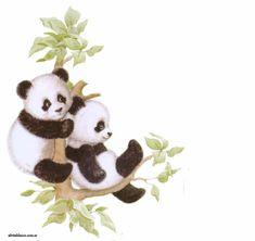 Panda Love, Cute Panda, Image Panda, Panda Bear Tattoos, Bear Sketch, Astronaut Wallpaper, Panda Party, Decoupage Vintage, Diy Canvas Art