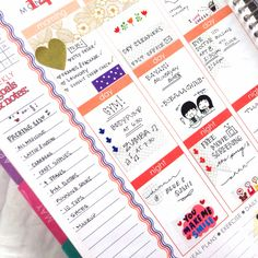 Erin Condren Life Planner - Goals and Notes section works perfect for a packing list! #erincondren #erincondrenlifeplanner