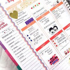 Erin Condren Life Planner - Goals and Notes section works perfect for a packing list! #erincondren #erincondrenlifeplanner