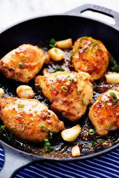 Honey Dijon Garlic Chicken {Recipe} | The Recipe Critic