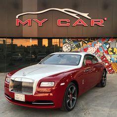 "Instagram media by mycarjeddah - Completed !!#RollsRoyce #Wraith # "" Gloss Ivory "" hood,roof &trunk ,,,# & "" Ceramic Pro "" ✨✨ #wrapping #cars #luxury #exotic #fast #jeddah #2017 # @Mycarjeddah"