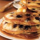 Try the Blueberry Pancakes Recipe on williams-sonoma.com