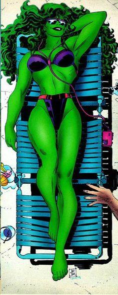 She-Hulk by John Romita Jr.