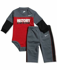 Nike Baby Boys' 2-Piece Bodysuit & Pants Set