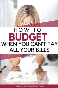 banking plan You dont know where to turn, because you have a pile of bills staring at you and not enough money to pay them all. What do you do Check out these 5 tips to help you budget when you dont have enough money to pay all your bills for some help. Making A Budget, Create A Budget, Making Ideas, Budget Help, Budgeting Finances, Budgeting Tips, Money Tips, Money Saving Tips, Managing Money