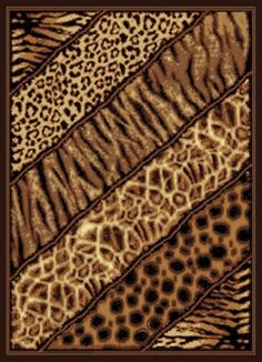 The Legends collection offers detailed images of exotic animals, celestial designs, animal prints, and African motifs. They are machine made in Turkey, using durable, 100% heat-Set Olefin. Economically priced and are a great way to add some style to any home.