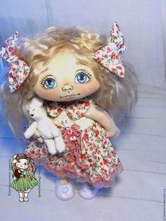 Купить Юлька.Текстильная кукла.Авторская кукла.Интерьерная кукла. - текстильная кукла, текстильные куклы