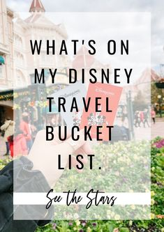 A Disney travel post written by Sarah Lauren for See the Stars, with the current pandemic putting a halt to any of our travel plans and Disney slowly reopening it's doors, I'm using this time to compile a travel bucket of all the Disney Travel destinations I can't wait to visit. Disney Travel, Disney Trips, Us Travel, Trip Planning, Travel Destinations, Bucket, Posts, How To Plan, Group