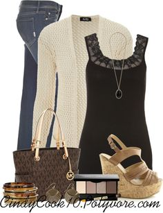 """""""Brown Eyed Girl"""" by cindycook10 on Polyvore"""