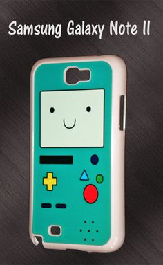 Samsung Galaxy Note II Adventure Time Beemo Hard case