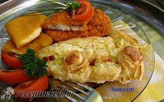 Krumplipüré torta (köret) recept fotóval