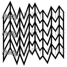 Cut file Wonky Chevron Overlay SVG file for by PrettyCraftyStuff