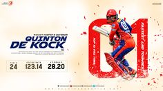 "Cricket Poster Designed for ""Delhi Daredevils"" by Rajeev Mehta"
