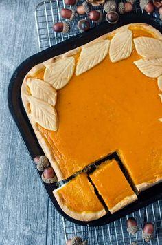 leckerer Kürbiskuchen mit Amarettini. Einfach gemacht, super gut und kalorientechnisch im grünen Bereich.